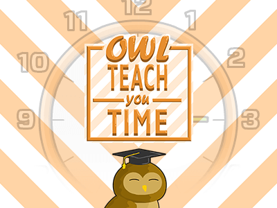 Owl Teach You Time